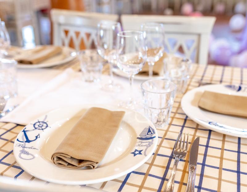 Ristorante di pesce per matrimoni, comunioni e feste